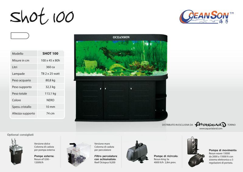 Shot 100 oceanson acquaportal forum acquario dolce e for Acquario marino 100 litri prezzo